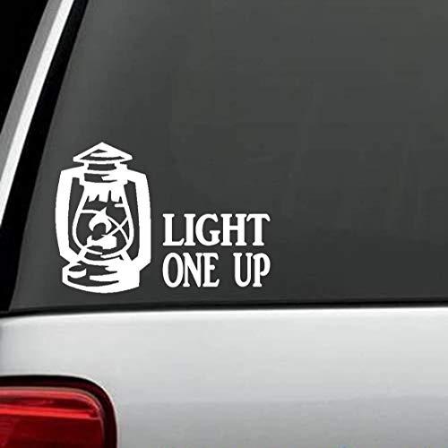 H421ld Light One Up - Adhesivo decorativo para ventana de coche J