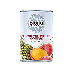 A delicious cocktail of organic tropical fruit Bursting with the natural goodness of real fruit Perfect served on top of your morning porridge, on delicious cakes and bakes