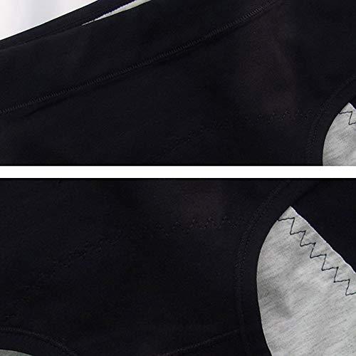 HANERDUNサニタリーショーツ3セット生理用ショーツ生理用下着生理用パンツレディースショーツ通気性漏れ防止昼夜用綿三枚セット