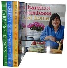Barefoot Contessa Cookbook, Barefoot Contessa Parties! Barefoot Contessa at Home & Barefoot in Paris (Ina Garten's Barefoo...