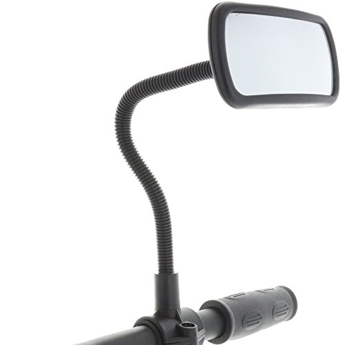 Smart-Planet® hoogwaardige fietsspiegel achteruitkijkspiegel voor fiets, bromfiets, rolstoel, rollator, scooter/spiegel nr.: 324085
