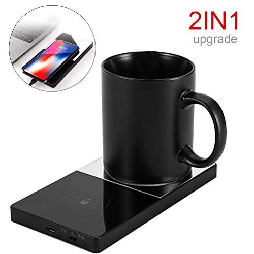 USB Kaffeetassenwärmer Elektrischer Getränkewärmer Kabelloses Ladegerät Heizung Tassenwärmer für das Home Office