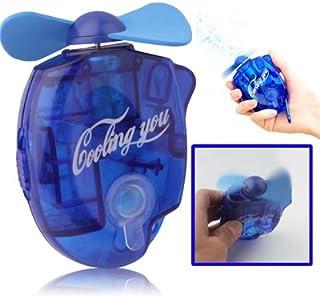 Ventilador eléctrico Mini Spray de Agua del Ventilador con una Potente Seguridad Fan Blades, Tamaño: Cerca de 109 x 73 x 27 mm