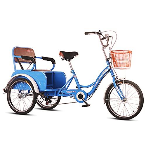 Adult Tricycle Bike 6 Speed 3-Wheel Bicycle Trike Bike Bicycle For Seniors Women Men Trikes...