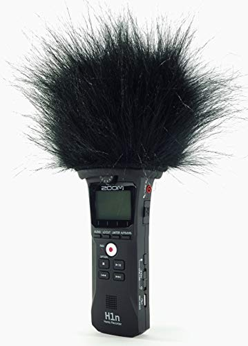 Master sound Zoom h1 N Top Model, Professional Three Layers Furry Winds Screen with Acoustic Foam Technology For Recorder zoom h1 N.