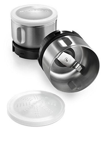KitchenAid Bcgsga Spice Grinder Accessory Kit, Stainless Steel