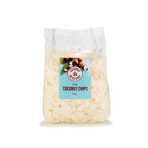 Coconut Merchant Kokos-Chips (Rohe 500g x1)