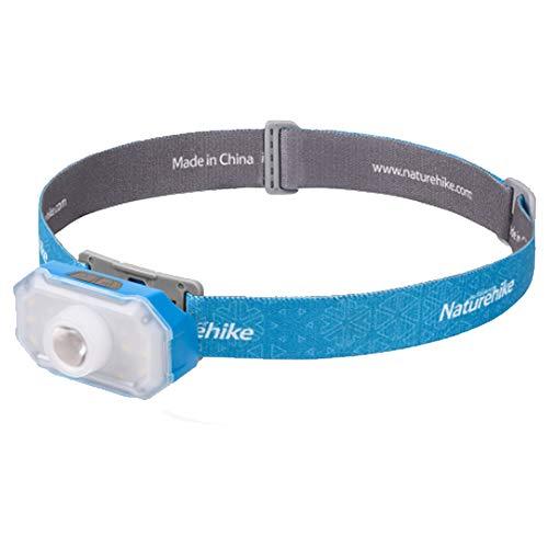 Naturehike テントライト NH18T001-A 4WAY 多機能 便利 ヘッドライト ランタン 照明 SOSライト キャンプ アウトドア 登山 USB充電 (ブルー)