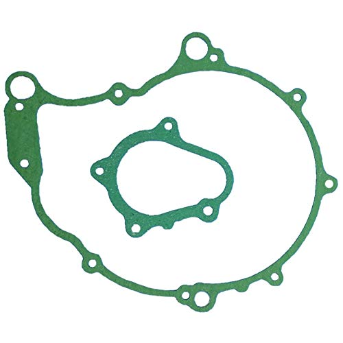 Tuzliufi Crankcase Stator Magneto Cover Starter Clutch Gear Rebuild Gasket Set Kit for Raptor YFM660R YFM 660 660R R 5LP-15451-00-00 5LP-15462-00-00 2001 2002 2003 2004 2005 New Z454