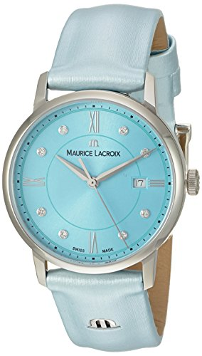 Maurice Lacroix Reloj analógico para Mujeres de EL1094-SS001-550-1