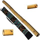 Australian Treasures - DIDGERIDOO: Bamboo PRO-series 120cm - incluyendo bolsa de didgerido...