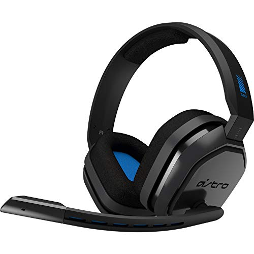 ASTRO Gaming A10 Cuffia con Microfono e Cavo, Compatibile con PlayStation 4, Xbox One, PC, Mac, Nero/Blu (Ricondizionato)