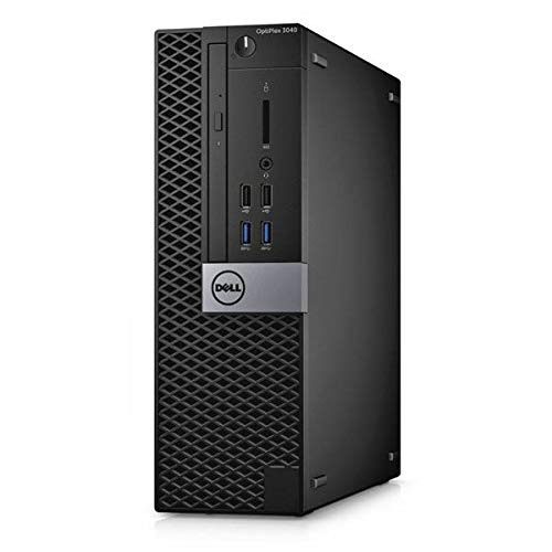 Dell OptiPlex 3040 Small Form Factor, Intel Core i3-6100, 8GB RAM, 256GB SSD, Dell 1 YR WTY + EuroPC Warranty Assist, (Renewed)