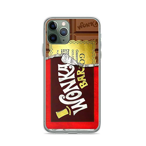 Phone Case Willy Wonka Golden Ticket Compatible with iPhone 6 6s 7 8 X Xs Xr 11 12 Pro Max Mini Se 2020 Charm Shock