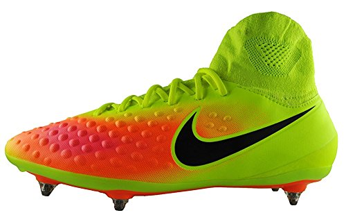 Nike Magista Orden II SG, Botas de fútbol para Hombre, Amarillo (Volt/Black-Total Orange-Hyper Turq), 42.5 EU