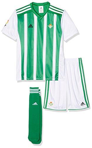adidas Betis H Minikit Conjunto, Niños, Verde/Blanco, 92