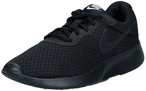 Nike Damen Tanjun Sneaker, Schwarz (Black/Black-White), 40.5 EU