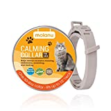 MOLANU Cat Calming Collar for Cats - Cat Calm Products, Pheromones for Cats, Anxiety Relief Fits Small Medium and Large Cats - Adjustable and Waterproof