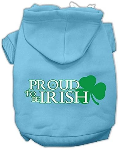 Mirage Special price for a limited time Pet Products Fashion Proud to Screen be Hoodies Irish Print
