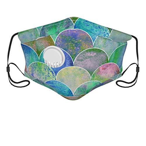 New*design Zum Bedrucken auf Textilien, Tapete, Verpackung Wiederverwendbare Gesichtsmaske Sturmhaube Waschbar Outdoor Nase Mund Abdeckung Mode für Unisex Männer Frauen