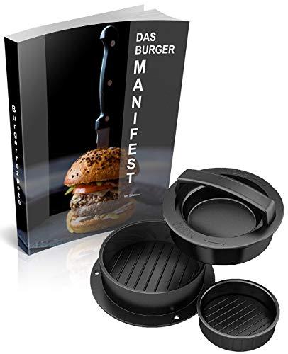 3-in-1 burgerpers van BMS – de pers voor de perfecte zelfgemaakte hamburger.
