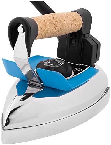 EOLO Stir GO FR05 Plancha Profesional EN SECO 850W con Placa BRILANTE Mango EN Corcho
