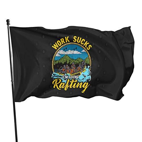 N/F Rafting Life Lustiges Surfen Geschenk Fahne Banner Flaggen Banner