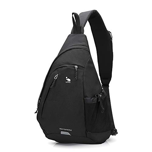 OIWAS One Strap Backpack for Men Single Strap Backpack Sling Bag Crossbody Shoulder Daypack for Boys...