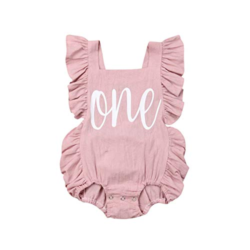 Top Baby Girls Rompers