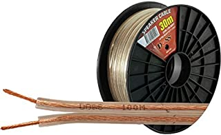 2X96.12R-30M DOSS Heavy-Duty Speaker Cable - 30M - Per Reel Roll Doss 2-Core X 96 Strand 0.12Mm 2-Core X 96 Strand 0.12Mm,...