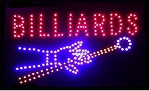 BILLIARDS BI01 - Placa LED electrónica con iluminación LED para rótulos profesionales de alto rendimiento, animados y parpadeantes