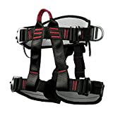 Climbing Harness Safety Thicken Adjustable Half Body Harness for Rock Mountain Tree Climbing <span class='highlight'>Cave</span> Rescue Hardware <span class='highlight'>tools</span>