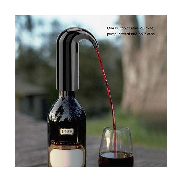 Aireador del Vino – Decantador de Colada automático, Vino eléctrico