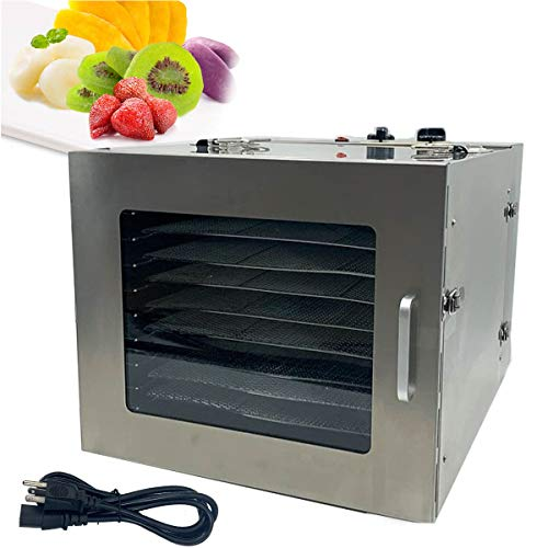 Fantastic Deal! DOMINTY Food Dehydrator Machine, Easy Setup, Digital Adjustable Timer and Temperatur...