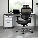 OFM Core Collection Ergo Office Chair featuring Mesh Back and Seat with Optional Headrest, in Black (540-BLK)