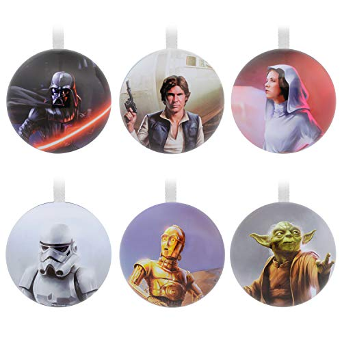 Hallmark 0002HCM8795 Ornament, Star Wars Set