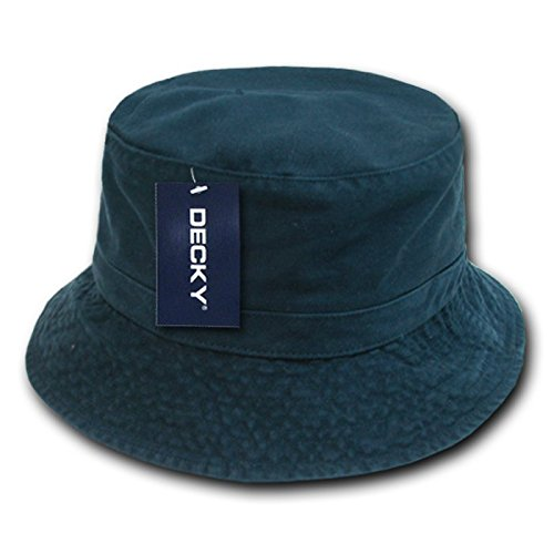 DECKY Polo Bucket Hat, Navy, Large/X-Large