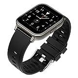 GAO-bo attività Tracker Smart Watch per Le Donne Uomo, Frequenza Cardiaca Pressione Sanguigna Ossigeno Monitoraggio di Ossigeno Sport Touch Smart Watch (Color : B)