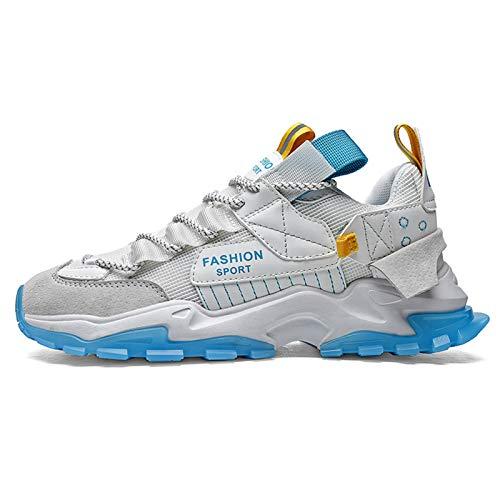 Zapatos casuales para hombre, para aumentar los deportes, con cojín de aire, zapatillas de deporte, transpirables, antideslizantes, ligeras, para correr