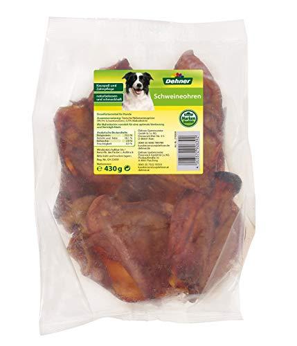Dehner Hundesnack, Schweineohren, 10 Stück, 430 g