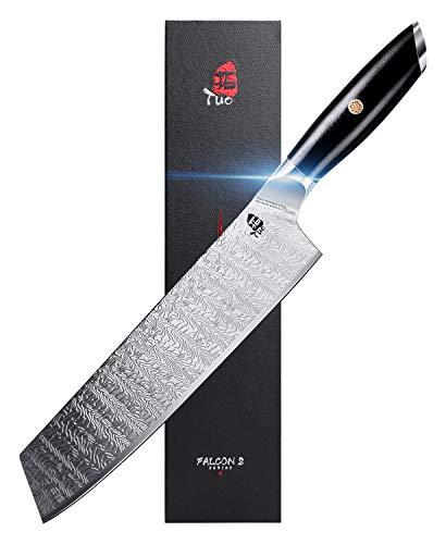 TUO Kiritsuke Knife 8.5 inch - Japanese Vegetable Cleaver Knife, Kiritsuke Chef Knife AUS-8 Japanese