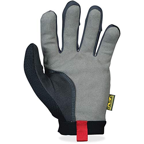 Mechanix Wear: Utility Work Gloves (Large, Black/Grey)