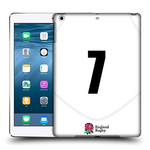 Head Case Designs Ufficiale England Rugby Union Posizione 7 2020/21 Giocatori Home Kit Cover Dura per Parte Posteriore Compatibile con Apple iPad Air (2013)