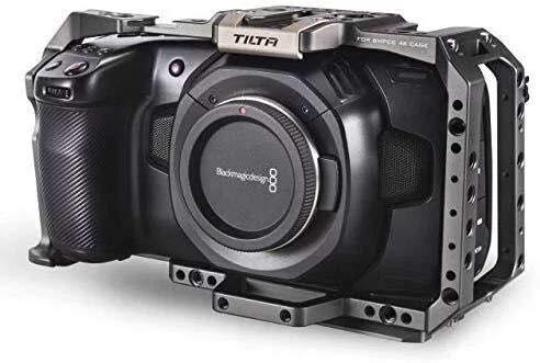 Tilta Full Camera Cage for Blackmagic Design Pocket Cinema Camera 4K/6K (Tactical Gray)