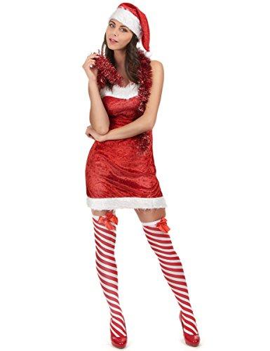generique Costume mamma Natale sexy donna S