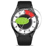 Vaxson Protector de pantalla, compatible con Kingwear KW88 Pro smartwatch SmartWatch, protector de película HD [no vidrio templado] película protectora flexible