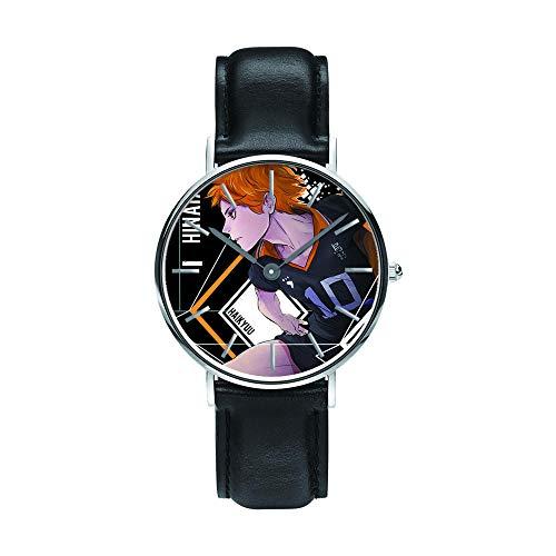 Anime Haikyu!! Relojes de Pulsera la Moda Reloj de Estudiante Niño Niña Reloj de Cuarzo Neutro Reloj Impermeable Pulsera de Cuero de Regalo Haikyu!! Regalo de los Fans Sorteo de Halloween-A7