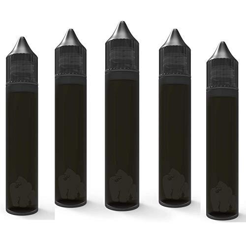 LDPE 30 ml Flaschen 5er Pack bis Chubby Gorilla (schwarz)