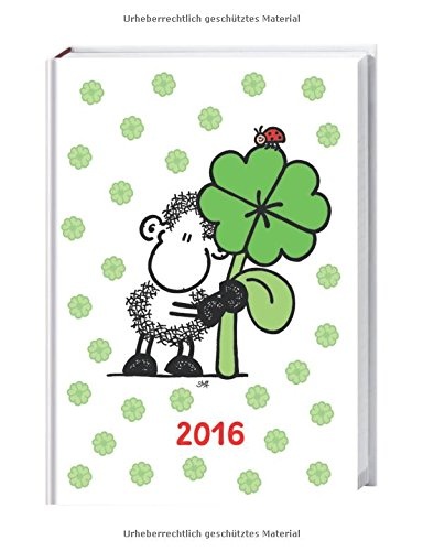 sheepworld 17-Monats-Kalenderbuch A6 2016: 17 Monate. Von August 2015 bis Dezember 2016.