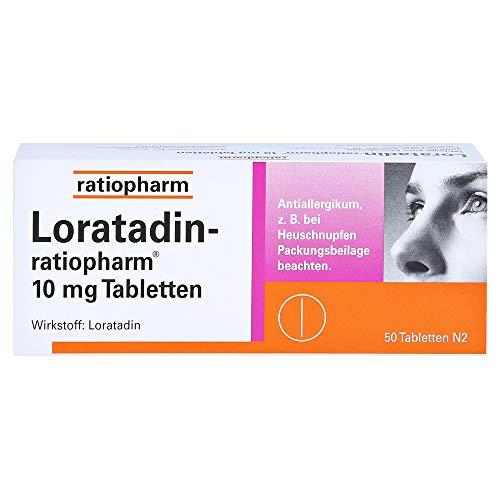 LORATADIN-ratiopharm 10 mg Tabletten 50 St
